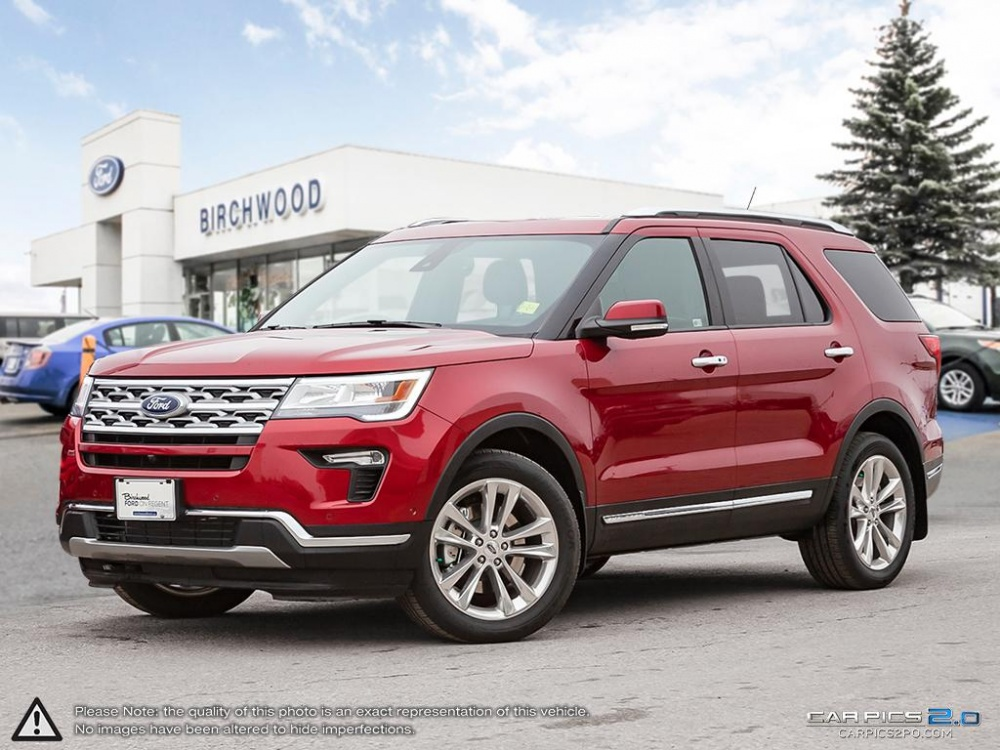 Ford Explorer Limited >> New 2018 Ford Explorer Limited 301a Suv In Winnipeg R181129