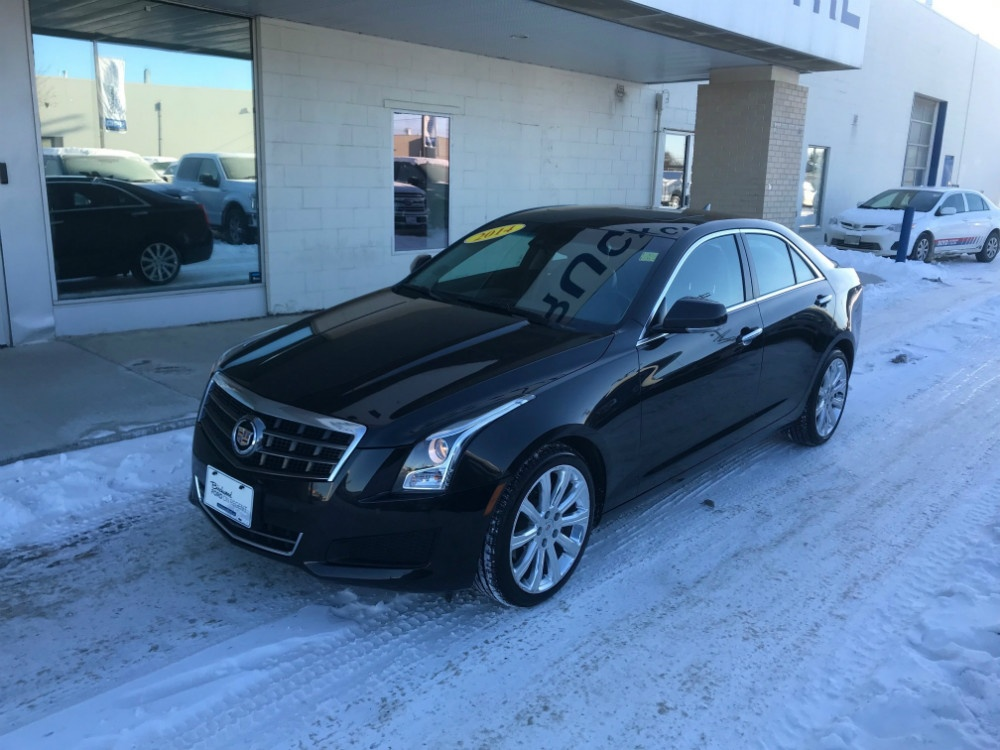 Certified Pre-Owned 2014 Cadillac ATS Luxury